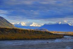 Alaska Matanuska River (MarculescuEugenIancuD5200Alaska) Tags: sunset alaska day cloudy autofocus matanuskariver outstandingromanianphotographers allnaturesparadise magicmomentsinyourlife