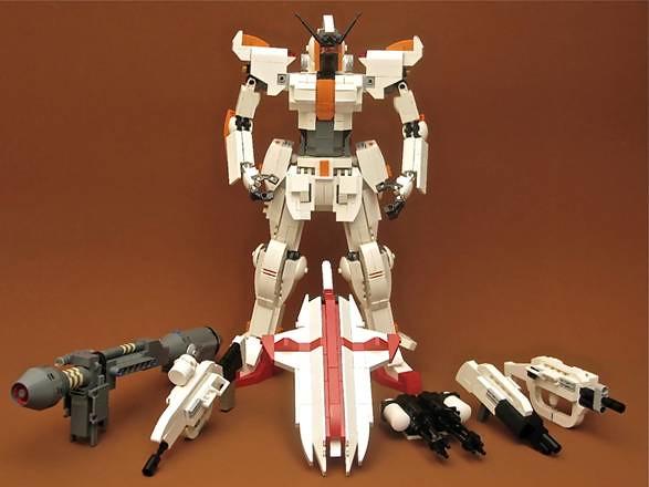 【玩具人HeroDesign投稿】雪地戰士二代與飛機V33積木創作