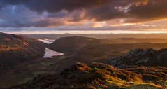 Dawn Breaks - Llyn Crafnant from Crimpiau (Nick Livesey Mountain Images) Tags: