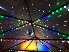 ―le disco 🌈💡 (anokarina) Tags: 365 nelliessportsbar appleiphone5s ustreet borderstan nellies dcist mirrorball discoball 🌈 💡