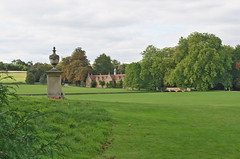 Audley End Essex (surreydock) Tags: trees england green beauty memorial polish tudor end statelyhome essex eastanglia stables audley englishheritage polishmonument polishairmen