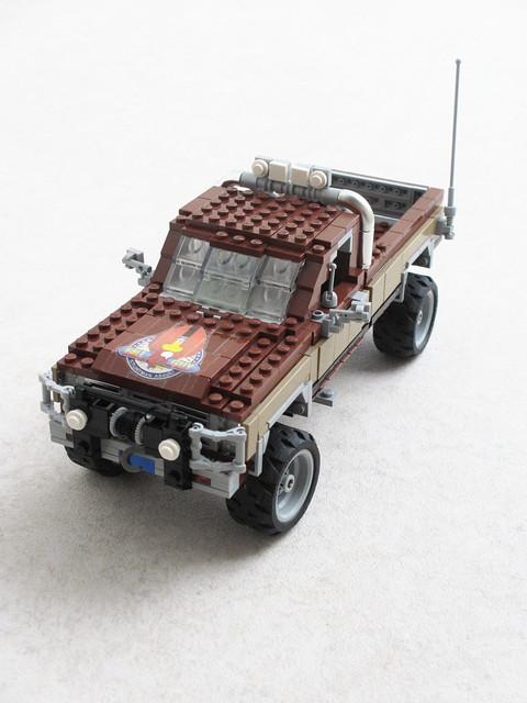 truck tv lego pickup sierra leemajors heatherthomas thefallguy