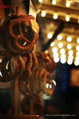 Pretzels anyone..... (hcjonesphotography) Tags: christmas decorations food paris tree angel night reflections shopping stars lights star market drink eiffeltower decoration noel ornaments angels merry arcdetriomphe marche joyous champselysee hcjonesphotography