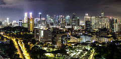 Singapore City. (Ollie Smalley Photography (OSP)) Tags: city longexposure travel blue portrait panorama travelling public skyline night contrast canon buildings reflections dark landscape concrete photography eos high construction highway singapore raw cityscape quiet view motorway horizon small perspective landmarks wideangle nopeople panoramic lookout flats le vegetation vista getty reflective 5d tall manual roads population iconic orientation hdb manualfocus stitched gettyimages dwarfed distant darksky dense populated osp gapyear lseries tiongbahru 65mm travelphotography llens housingdevelopmentboard leadingline manualexposure habitants singaporecity canon24105mm 5d2 5dii canon5dmarkii olliesmalleyphotography