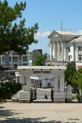 Севастополь, арка Малахова кургана
