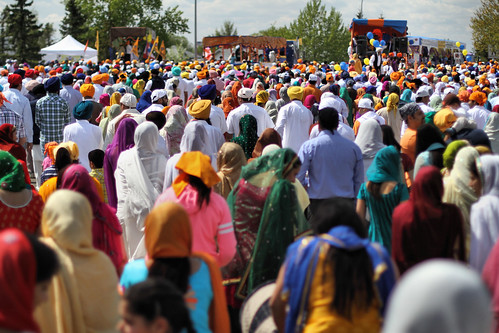 Vaisakhi Crowd