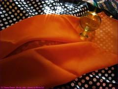 033TC_Scarves_&_Glasses_(2)_Dec04, 2013_C040422_sizedFlickR (terence14141414) Tags: orange color glass scarf silk gag foulard soie gagging esarp scarvesglasses