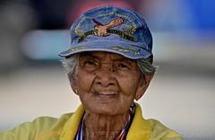 Bangkok I Thailand I Asia (Aman Iman ॐ) Tags: old city portrait woman thailand asia bangkok femme protest photojournalism thaïlande demonstration elderly oldwoman asie protester ville manifestation victorymonument manifestant bangkokshutdown bangkokshutdown2014
