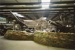Marshall Museum, Overloon (Stewie1980) Tags: park en netherlands museum analog liberty photo war gun m1 military nederland 2006 scan marshall artillery howitzer overloon m1a1 155mm nationaal verzetsmuseum m114 oorlogs m114a1