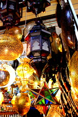 Maroccain lamps (Life_is_Love81) Tags: africa lamp canon eos lights morocco marocco marrakech medina viaggi