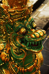 Naga Unleashed (Triple_B_Photography) Tags: world above travel vacation portrait bali holiday colour green art tourism beautiful statue closeup contrast altered canon wonderful indonesia asian concrete island temple eos intense eyes asia afternoon zoom vibrant edited traditional religion culture warmth buddhism location tourist explore zen elements saturation sacred tropical destination essence serpent custom ornamental hindu dharma hinduism pura tropics enhanced adjustment cultural guardian edit protector sangha offerings balinese 500d vajrayana mahayana theravada 2013 elementsorganizer