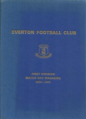 Everton Football Club Official Bound Volume - 1970-71 (Bob Latchford) Tags: