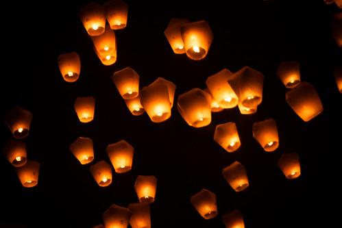 light sky food festival night roc flying market taiwan luck nightmarket lanterns lantern february taiwanese 平溪 2014 pingxi skylantern xueshan 臺灣燈會
