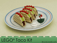 LEGO Taco Kit (bruceywan) Tags: food lego taco kit photostream moc brucelowellcom