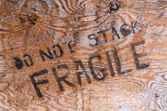 Do Not Stack Fragile (Curtis Gregory Perry) Tags: wood old house abandoned stencil nikon do stack fragile d800e
