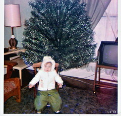 "Playing ""Randy"" (Lisa Zins) Tags: ohio snow 1969 kids tn clothes randy oldphotos throwback snowsuit willoughby achristmasstory kidsclothes lisazins"
