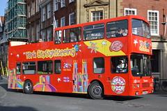 Transdev Blazefield York City Sightseeing 4013 E313MSG (Will Swain) Tags: york city uk travel england bus buses march britain yorkshire north sightseeing east pullman 13th lothian trasport 313 2014 4013 blazefield transdev e313msg