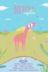 Menta de Agua (A P E N) Tags: flyer dibujo ilustracion apen