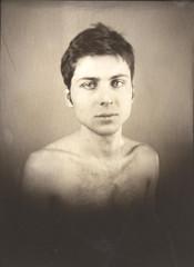 Oleg (NooFZz) Tags: portrait bw 9x12 photographicpaper paperpositive bulldog4x5
