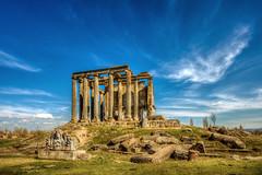 Aizonoi, Turkey (Nejdet Duzen) Tags: trip travel turkey temple ancient roman trkiye ruin harabe antik tapnak turkei zeustemple aizanoi seyahat ktahya zeustapna avdarhisar romallar