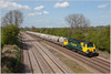70004 15th April 2014 (Resilient741 Photography) Tags: train cement class ugly 70 midland loughborough mainline freightliner 70004 powerhaul 6l87 6l89