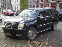 2012 Cadillac Escalade (harry_nl) Tags: france 2016 lille cadillac escalade