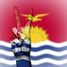 Peace Symbol with National Flag of Kiribati