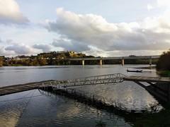 El rio Miño frente a Valença do Minho (nora4santamaria) Tags: galicia rios river puente brigde