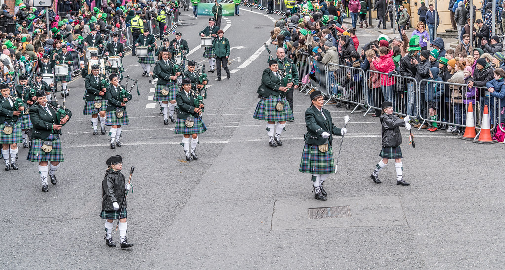 St. Joseph's Pipe Band From Glasdrumma [St. Patricks Day Parade 2017]-125895