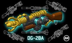BrickArms Wunderwaffe DG-2BA Render (BrickArms) Tags: brickarms dg2 ba lego guns zombie