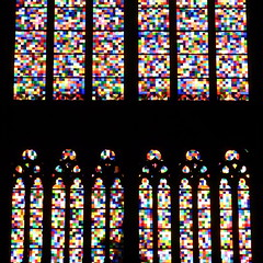 devotion (vertblu) Tags: colours colourful colouredglass multicoloured pixels glass glas window windows gerhardrichterwindow colognecathedral kölnerdom köln colognegermany gerhardrichter architecture arc arcs contrast contrasty patterns pattern patterned patternedglass patternglass abstractarchitecture geometric geometrical geometry abstract abstrakt abstraction abstractsquared 500x500 kwadrat bsquare vertblu graphical graphic