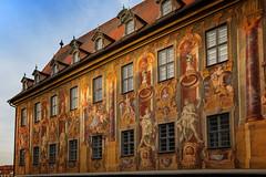Bamberg, Altes Rathaus Fassadenmalerei (J. Achrainer) Tags: bamberg canoneosm5 efm18150mmf3563stm staedteundorte architektur fassadenmalerei mural unesco weltkulturerbe