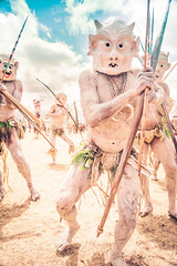 The Mudmen In Papua New Guinea (Stuck in Customs) Tags: goroka papuanewguinea stuckincustoms treyratcliff p2017 2015 ilce7r sony tufi horizontal colour color day outside outdoor outdoors colourful tribe tribal shotpeopledepth tree rr trey ratcliff face paint green black brown plant eyes focuspoint stuckincustomscom island actionshot people depthoffield bright tattoo tradition girl shell forest village palm october hdr hdrphotography