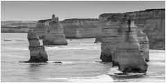 """Rockart"", Australia (CvK Photography) Tags: 12apostles australia autumn bw canon coast cvk fall greatoceanroad holiday nationalpark outdoor seascape victoria waves princetown australië au rockart"