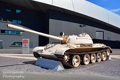 T-55 tank (jonnywalker) Tags: salfordquays manchester greatermanchester salford quays iwmn quaywest imperialwarmuseumnorth t55tank tank vehicle museumtank museum