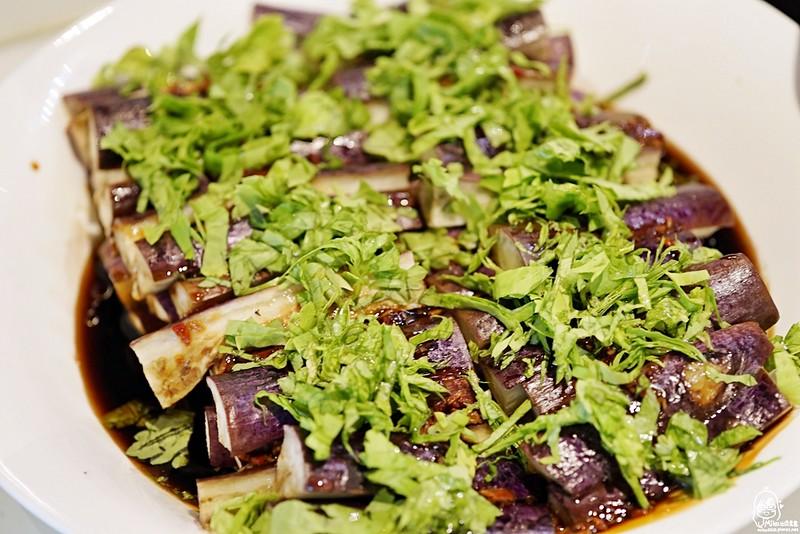 橄欖油蒸紫茄(全素)