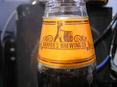 Harper's Brewing North Bridge Brown Ale 4.7%  500ml €1.79 Aldi 09-04-2017 - Collar (Lord Inquisitor) Tags: harpers brewing north bridge brown ale 47 500ml €179 aldi englishbeer brownale collar label beer beerreview