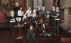 Gryffindor House Picture (Hogwarts Mischief Managed) Tags: secondlife secondlifeharrypotter secondliferoleplay secondlifemischiefmanaged mischiefmanaged hogwartsmischiefmanaged hogwarts hogwartsroleplay sl slytherin ravenclaw hufflepuff gryffindor magic witch wizard student sortinghat spells