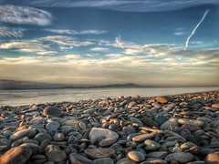 Never too far from home (stuartkilday) Tags: beach sunset viewfordays photooftheday photographer photography photo camera phone lakedistrict cumbria firth water view sky home scotland