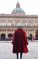 """Bologna """"La rossa"""" (Eugenio Soliani) Tags: bologna rossa piazza maggiore lucio dalla welcome turismoer turismo"""