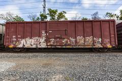 (o texano) Tags: houston texas graffiti trains freights bench benching nekst wyse defthreats mayhem a2m adikts