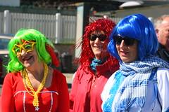 IMG_3690 (leroux.maximilien62) Tags: ouistreham calvados normandie france carnaval carnival karneval lunettes brillen perruque colorful bunt smile sourire lächeln coloré bigarré wig