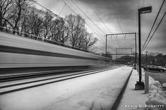 Saturday Morning Commute (1 of 1) (Kevin R. Burkitt) Tags: burlingtonnorthernandsantafe csx fujixpro2 leefilters manfrotto niksilverefexpro2 pennsylvania septa tankcars