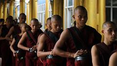 Kyah Khat Wain Kyaung - Bago, Myanmar (Laszlo Bolgar) Tags: bago buddhist kyahkhatwainkyaung monastery monk myanmar mmr