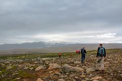 Hikers on the Fimvörðuháls trail, Iceland (thorrisig) Tags: 17082012 fimmvörðuháls göngufólk öræfi iceland ísland island icelandicnature íslensknáttúra landscape landslag southiceland southoficeland thorrisig thorfinnursigurgeirsson þorrisig thorri thorfinnur þorfinnur þorri þorfinnursigurgeirsson vastness wilderness outdoors suðurland ejafjallajökull