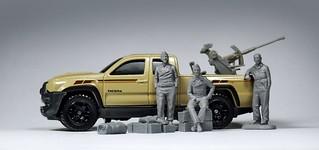 Matchbox - B.F.F Toyota Tacoma