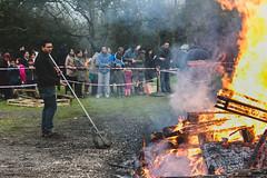 Shree Swaminarayan Mandir - Dharma Bhakti Manor -  Holi2017032 (Dharma Bhakti Manor) Tags: hindu festival colour powder throwing year bonfire prahlad holika dahan fire