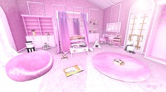 My pink room (RoxxyPink) Tags: roxxypink roxxy pink fashionuschies fashion uschies fashionblog blog fashionblogger blogger blogging blogspot fiasco furniture olive the epiphany theepiphany gacha rare deco decoration home living secondlife second life 2ndlife virtualworld virtuallife world virtual