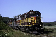 The Ore Loads at Hawk Junction (ac1756) Tags: wisconsincentral wc wcl sd45 6541 alo21 emd hawkjunction ontario canada
