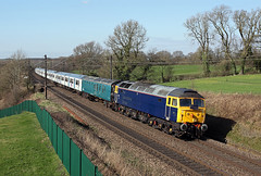 47815 Acton Cliff 15th March 2017 (John Eyres) Tags: 47815 hauling 319218319219 5v67 1217 allerton depot long marston 150317